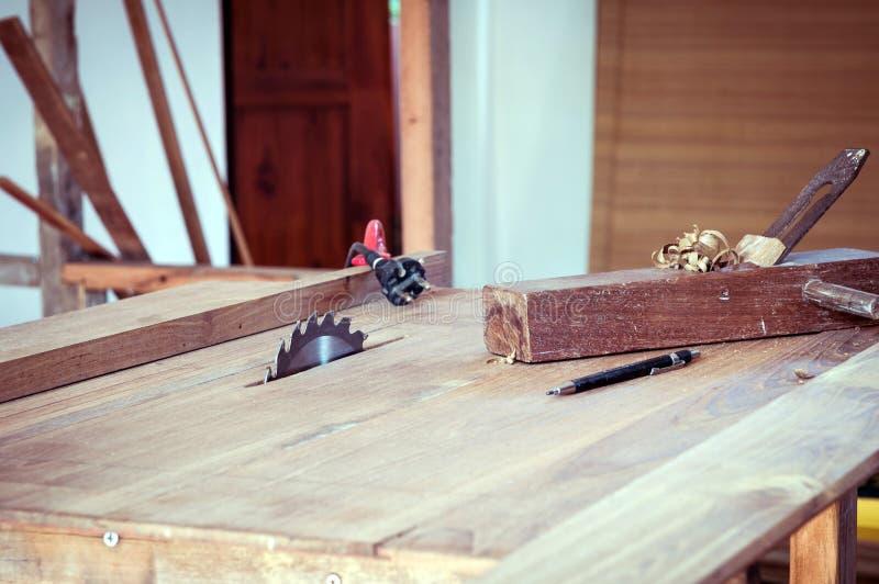 Εργαλείο πινάκων και ξυλουργών στοκ εικόνες