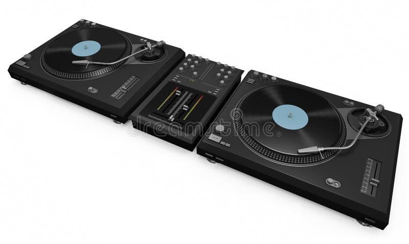 εργαλείο του DJ απεικόνιση αποθεμάτων