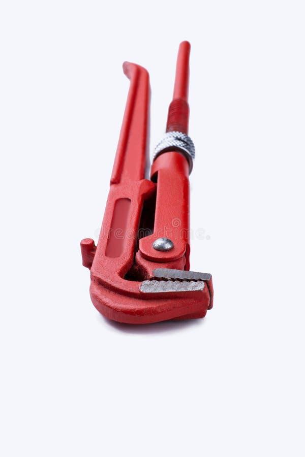 Εργαλείο υδραυλικών που απομονώνεται στο άσπρο υπόβαθρο στοκ εικόνα με δικαίωμα ελεύθερης χρήσης