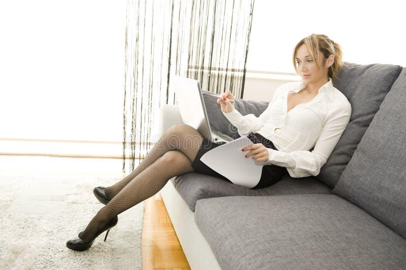 εργασία άνεσης στοκ φωτογραφία με δικαίωμα ελεύθερης χρήσης