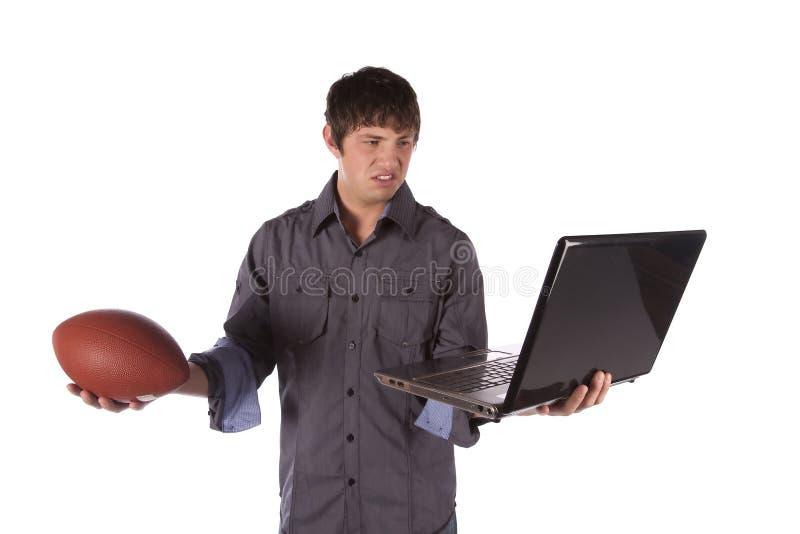 Εργασία ή παιχνίδι τρελλή στοκ εικόνες με δικαίωμα ελεύθερης χρήσης