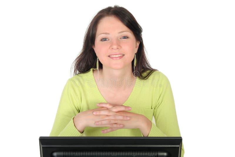 εργασία γυναικών υπολο& στοκ εικόνες με δικαίωμα ελεύθερης χρήσης