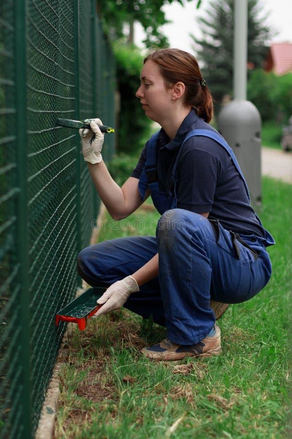 εργασία γυναικών στοκ εικόνα