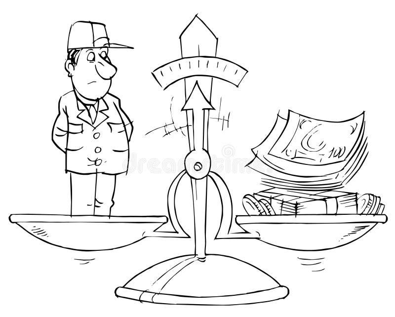εργασία δαπανών ελεύθερη απεικόνιση δικαιώματος