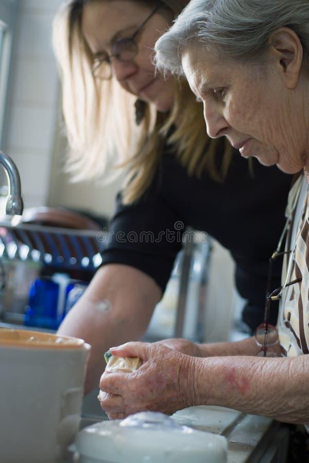 εργασία κουζινών στοκ φωτογραφία με δικαίωμα ελεύθερης χρήσης