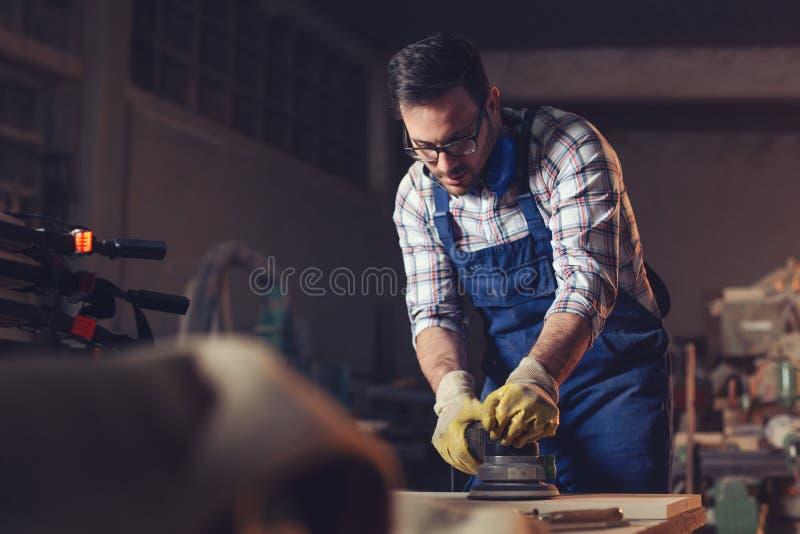 Εργασία λήξης ξυλουργών στοκ εικόνες