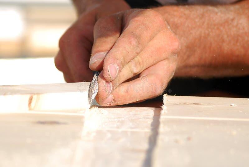 Εργασία ξυλουργών στοκ εικόνες