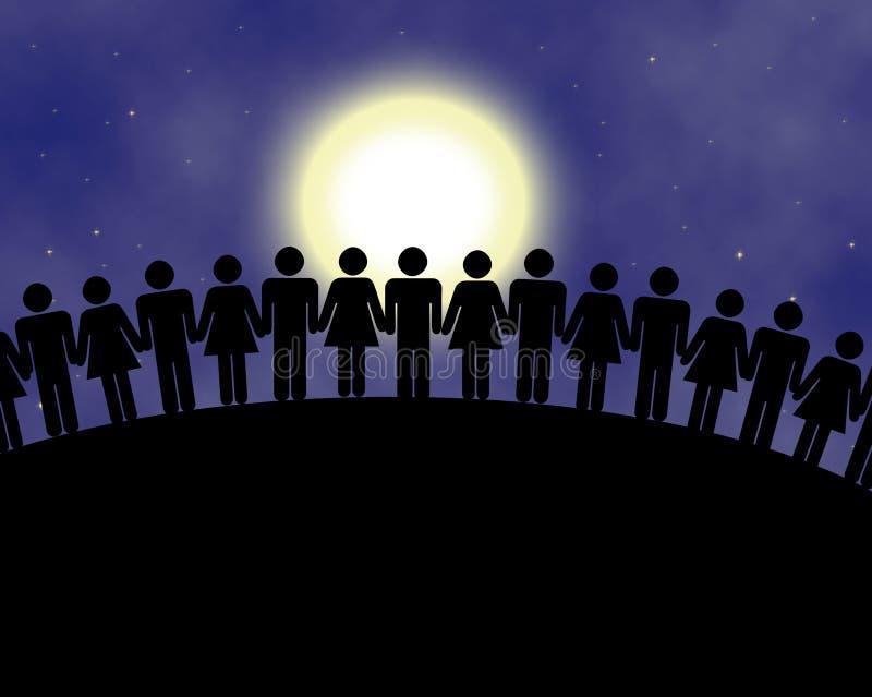 εργασία ομάδων ελεύθερη απεικόνιση δικαιώματος