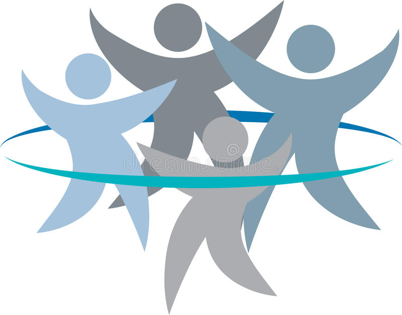 Εργασία ομάδας ελεύθερη απεικόνιση δικαιώματος