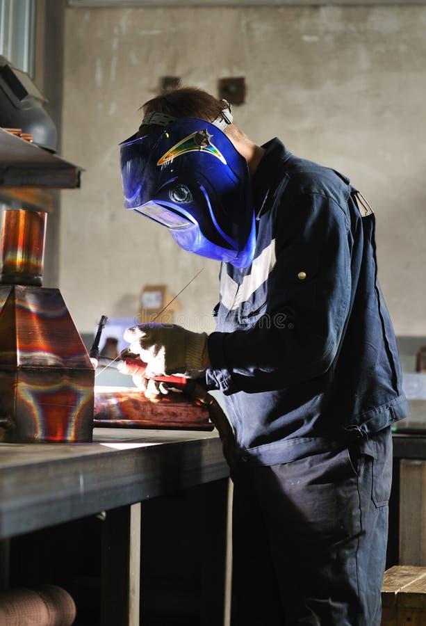 εργασία οξυγονοκολλητών στοκ εικόνα