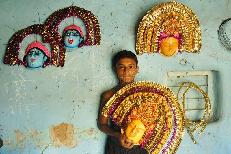 εργασία της Ινδίας παιδιών στοκ εικόνα με δικαίωμα ελεύθερης χρήσης