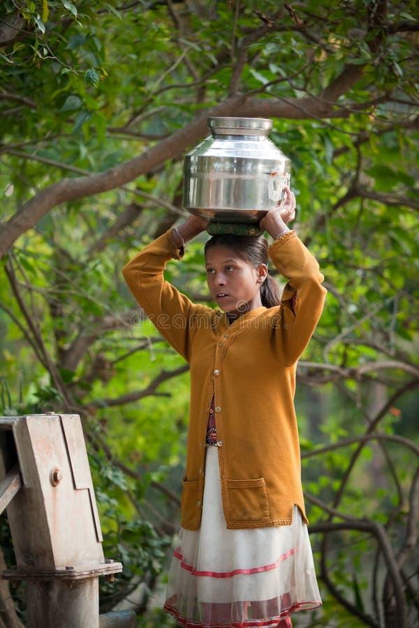 εργασία της Ινδίας παιδιώ&n στοκ εικόνες