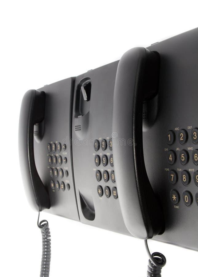 εργασία υπηρεσιών τηλεφ&om στοκ εικόνες