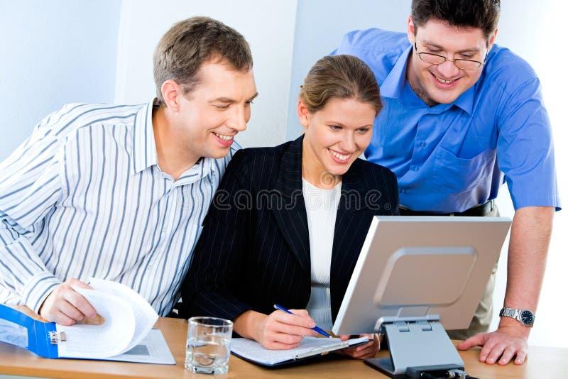 εργασία υπολογιστών στοκ φωτογραφία με δικαίωμα ελεύθερης χρήσης