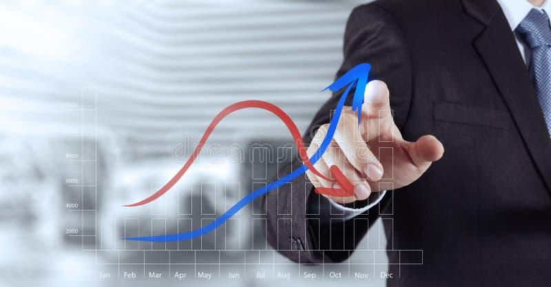 Εργασία χεριών επιχειρηματιών στοκ εικόνα