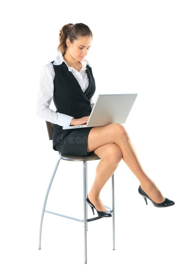εργασίες γυναικών επιχ&epsil στοκ εικόνα