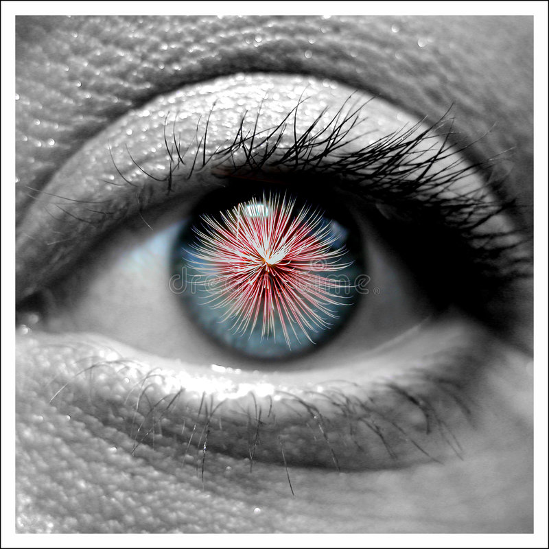 εργασίες ματιών στοκ εικόνα με δικαίωμα ελεύθερης χρήσης