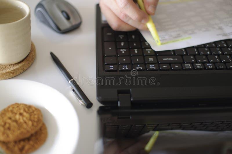 εργασιακός χώρος αντικ&epsilo στοκ εικόνα με δικαίωμα ελεύθερης χρήσης