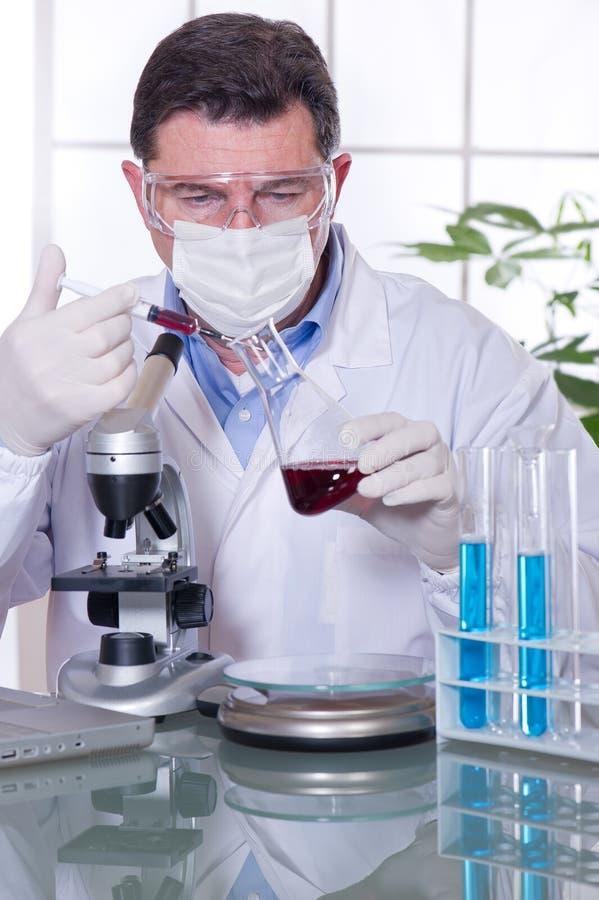 εργαστήριο γιατρών στοκ φωτογραφία με δικαίωμα ελεύθερης χρήσης