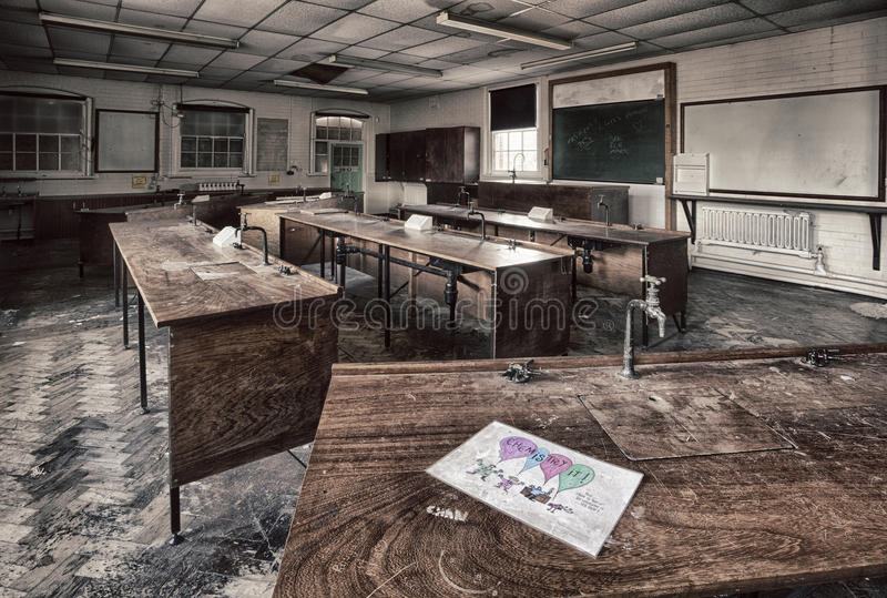 Εργαστήριο γυμνασίου στοκ εικόνα
