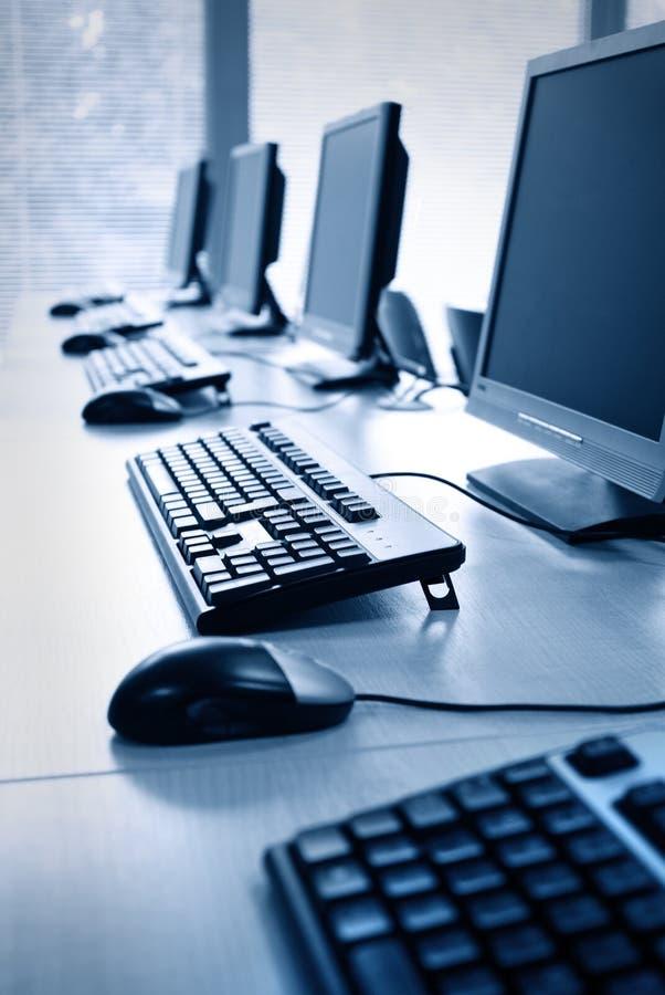 εργαστήριο υπολογιστών στοκ φωτογραφίες με δικαίωμα ελεύθερης χρήσης
