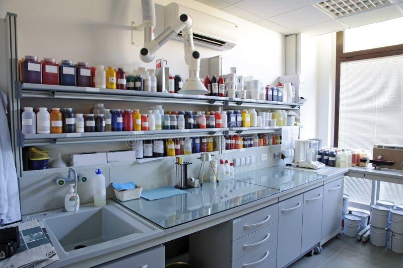 εργαστήριο χρωματομετρί&a στοκ εικόνα