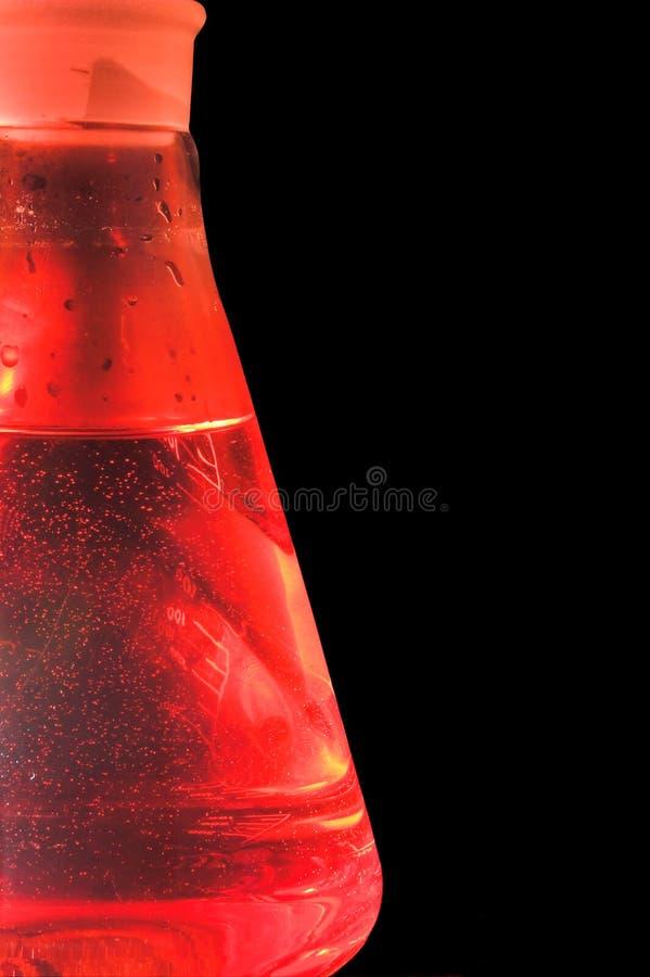 Εργαστηριακή κούπα γυαλιού στοκ εικόνες με δικαίωμα ελεύθερης χρήσης
