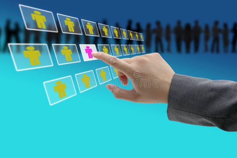 εργατικό δυναμικό επιχε&io στοκ εικόνα