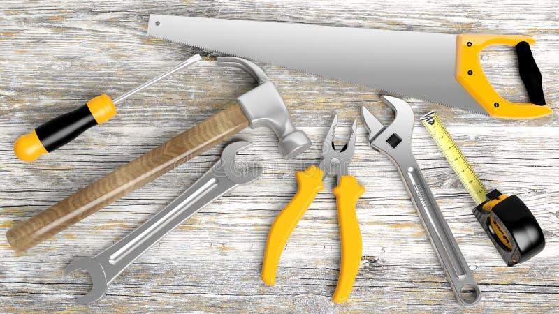 εργαλεία διάφορα απεικόνιση αποθεμάτων