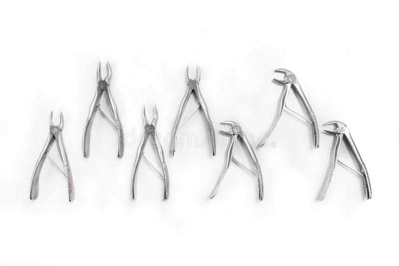 Εργαλεία ιατρικού εξοπλισμού οδοντιάτρων ` s στοκ φωτογραφίες με δικαίωμα ελεύθερης χρήσης