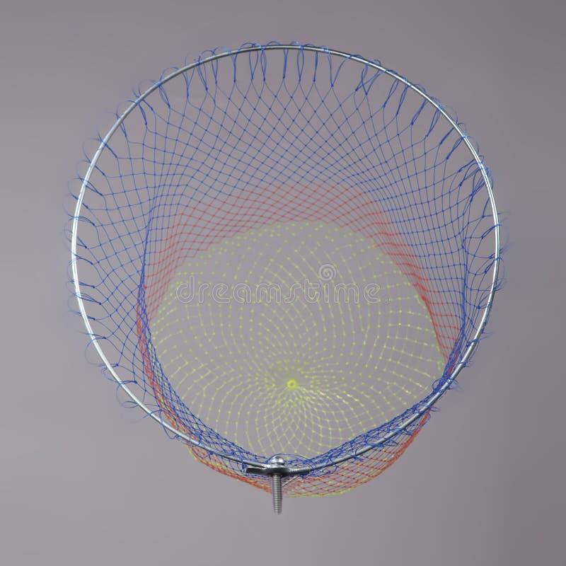 Εργαλείο συγκομιδών των νάυλον διχτυών χλόης για την αλιεία ελεύθερη απεικόνιση δικαιώματος