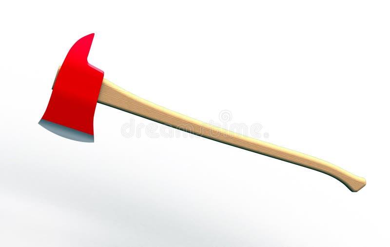 Εργαλείο - τσεκούρι πυρκαγιάς απεικόνιση αποθεμάτων