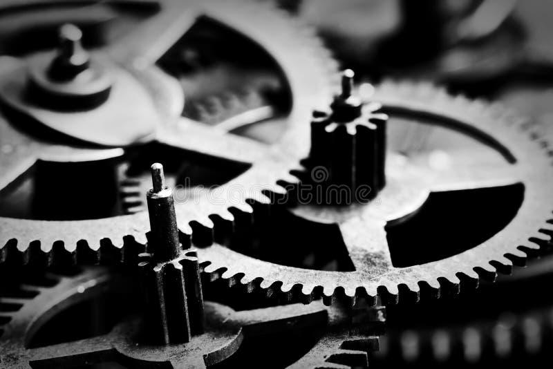 Εργαλείο Grunge, γραπτό υπόβαθρο ροδών βαραίνω Βιομηχανικός, επιστήμη στοκ εικόνα