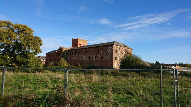Εργοστάσια βαμβακιού μύλων τόνου στοκ εικόνα με δικαίωμα ελεύθερης χρήσης