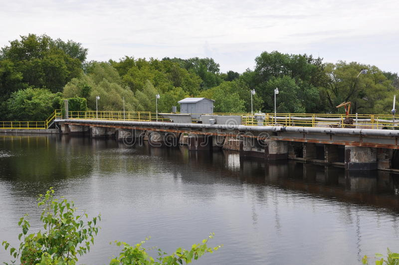Εργοστάσια επεξεργασίας νερού στοκ φωτογραφίες με δικαίωμα ελεύθερης χρήσης
