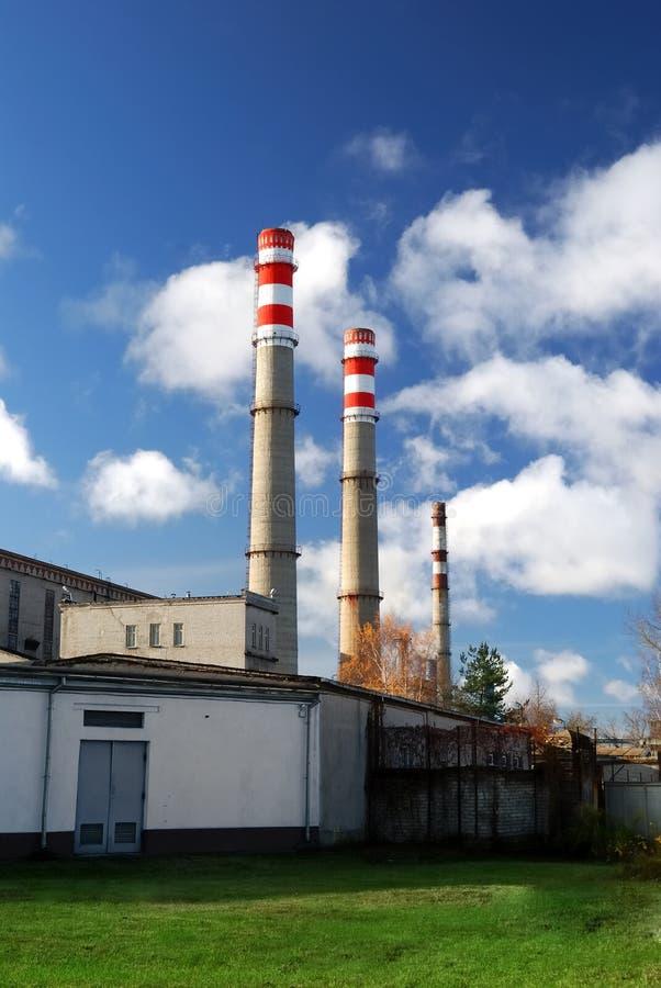 Download εργοστάσιο βιομηχανικό στοκ εικόνα. εικόνα από βιομηχανικός - 17053685