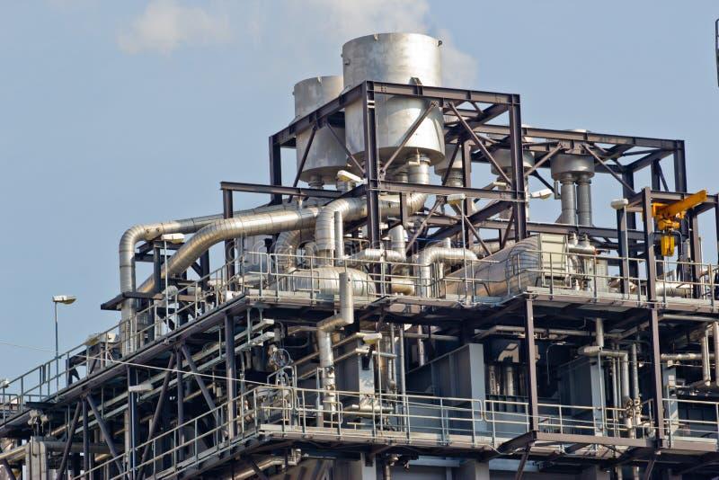 Εργοστάσιο επεξεργασίας αερίου στοκ φωτογραφία