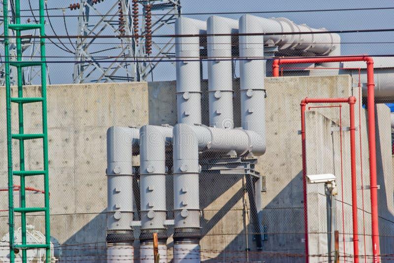 Εργοστάσιο επεξεργασίας αερίου στοκ εικόνα με δικαίωμα ελεύθερης χρήσης