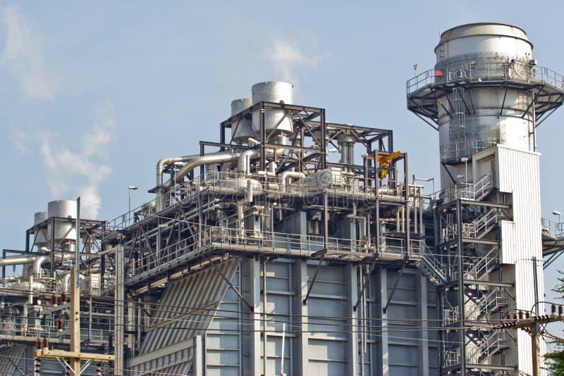 Εργοστάσιο επεξεργασίας αερίου στοκ φωτογραφίες