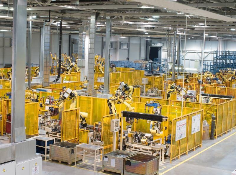 εργοστάσιο εσωτερικό στοκ εικόνες με δικαίωμα ελεύθερης χρήσης