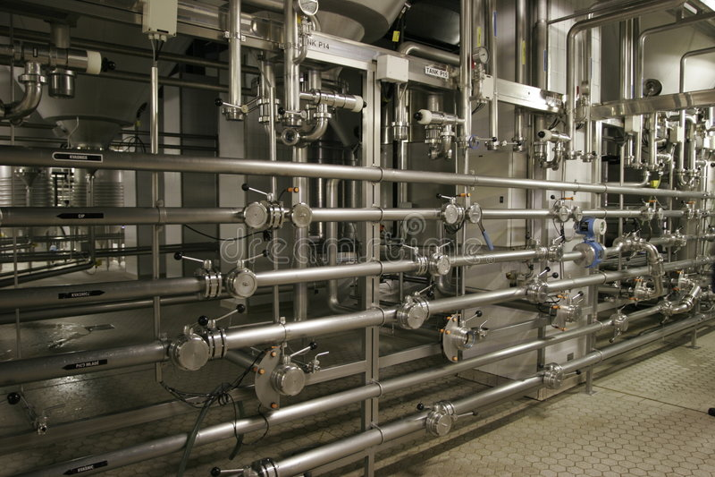 εργοστάσιο μπύρας στοκ εικόνες