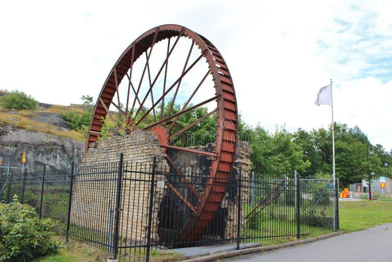 Εργοστάσιο πορσελάνης Gustavsberg στοκ φωτογραφία με δικαίωμα ελεύθερης χρήσης