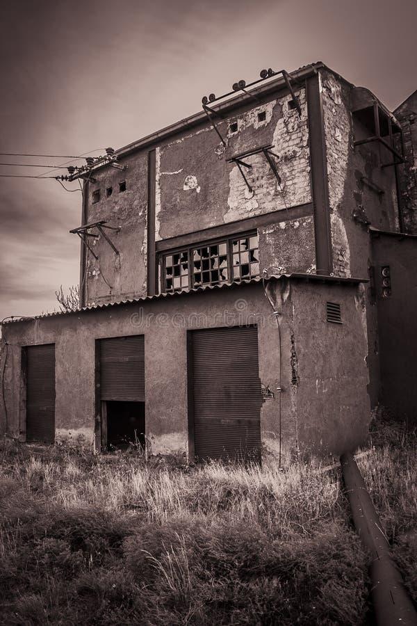 Εργοστάσιο που εγκαταλείπεται στοκ φωτογραφία με δικαίωμα ελεύθερης χρήσης
