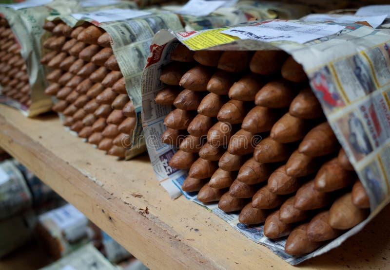 Εργοστάσιο πούρων Esteli στοκ φωτογραφία με δικαίωμα ελεύθερης χρήσης