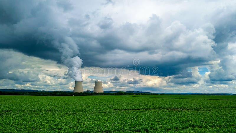 Εργοστάσιο σύννεφων στοκ φωτογραφία με δικαίωμα ελεύθερης χρήσης