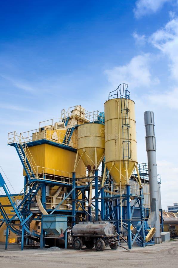 εργοστάσιο τσιμέντου στοκ φωτογραφίες με δικαίωμα ελεύθερης χρήσης