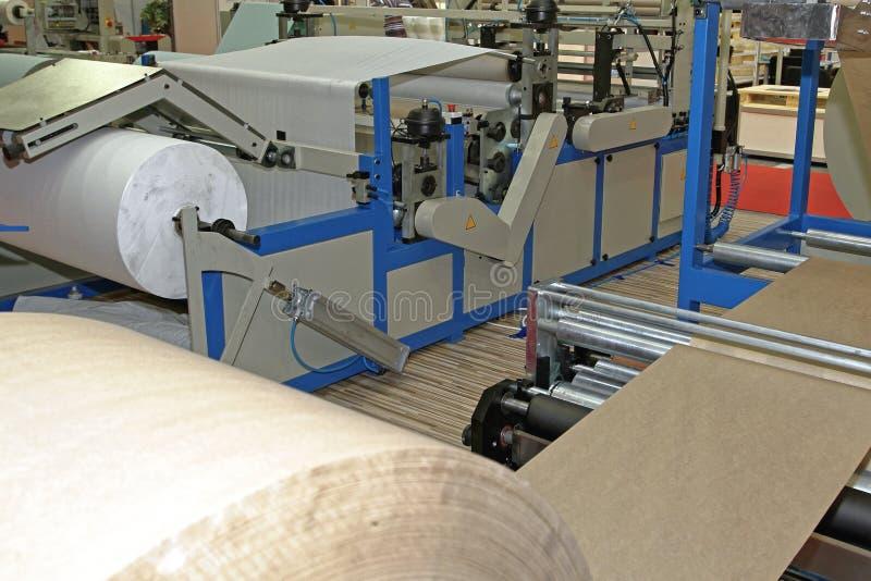 Εργοστάσιο χαρτιού στοκ εικόνες με δικαίωμα ελεύθερης χρήσης