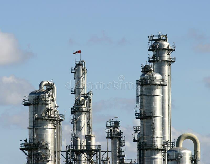 εργοστάσιο χημικής βιομ&e στοκ φωτογραφία