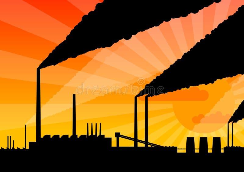 εργοστάσιο διανυσματική απεικόνιση