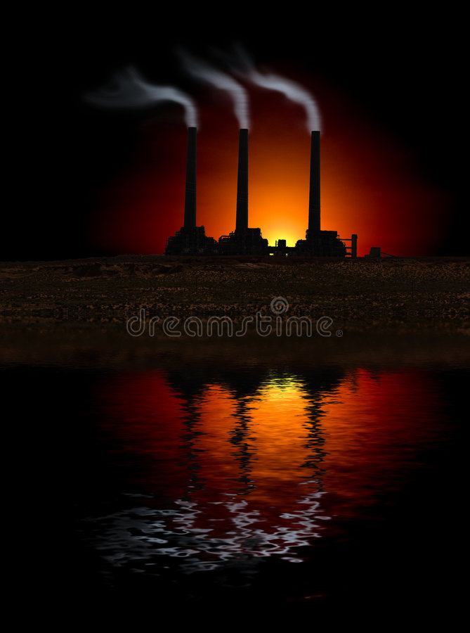 εργοστάσιο απεικόνιση αποθεμάτων